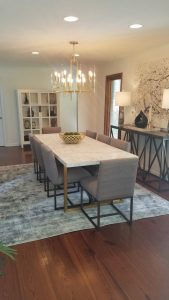 Entry - Dining Room