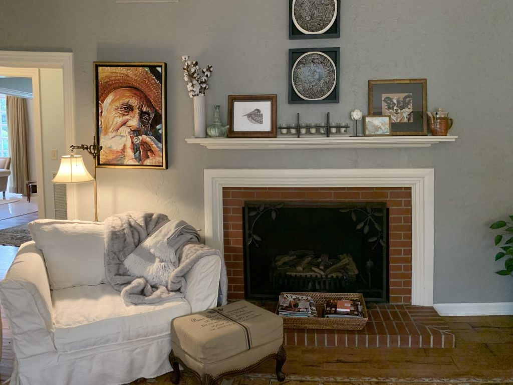 Fire place at Living Room